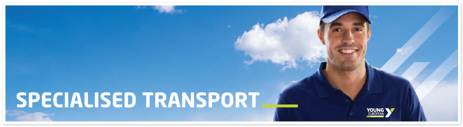 Specialised Transport Banner Young European